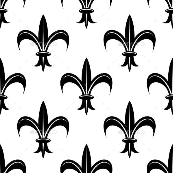 Fleur De Lis Pattern By Vectortradition Graphicriver