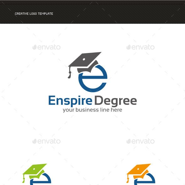 E Letter Education Logo