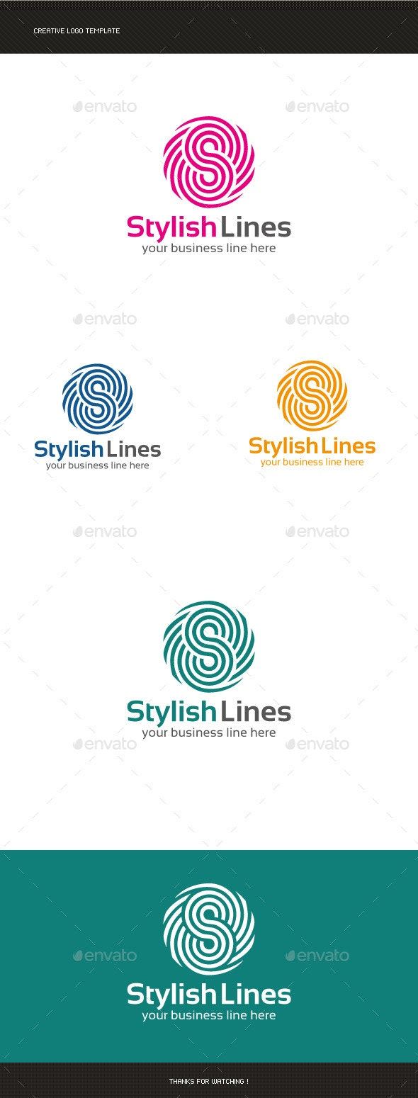 S Letter Logo Template - Letters Logo Templates
