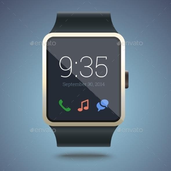 Smart Watch. - Man-made Objects Objects