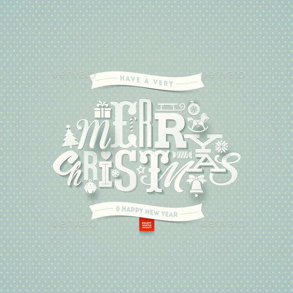 Christmas Type Design