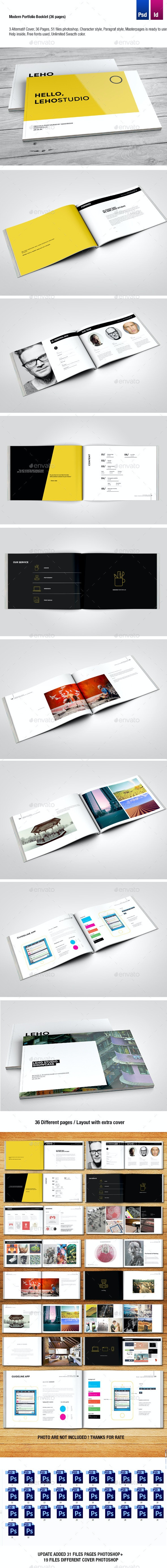 Modern Portfolio Brochure (36 Pages) - Corporate Brochures