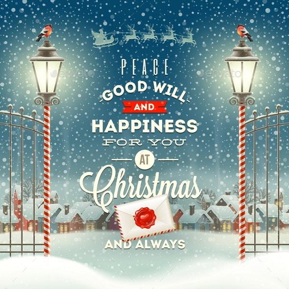 Christmas Greeting Type Design - Christmas Seasons/Holidays