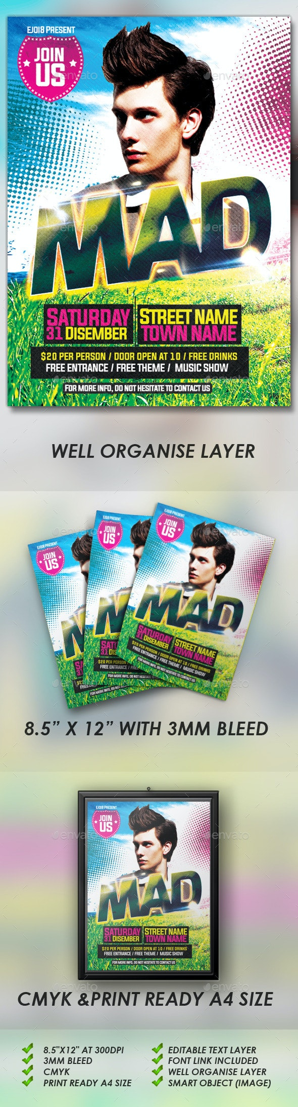 Mad Flyers - Events Flyers