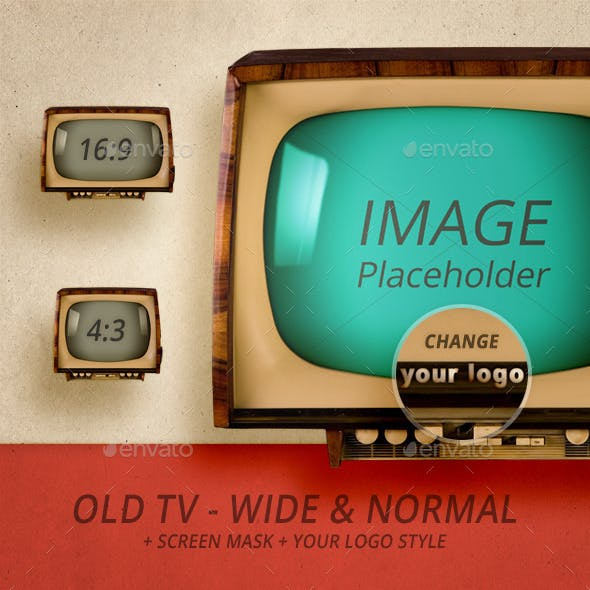 Old TV - Wide & Normal