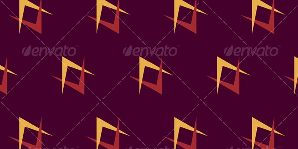 Retro Sci-Fi Pattern - Patterns Decorative