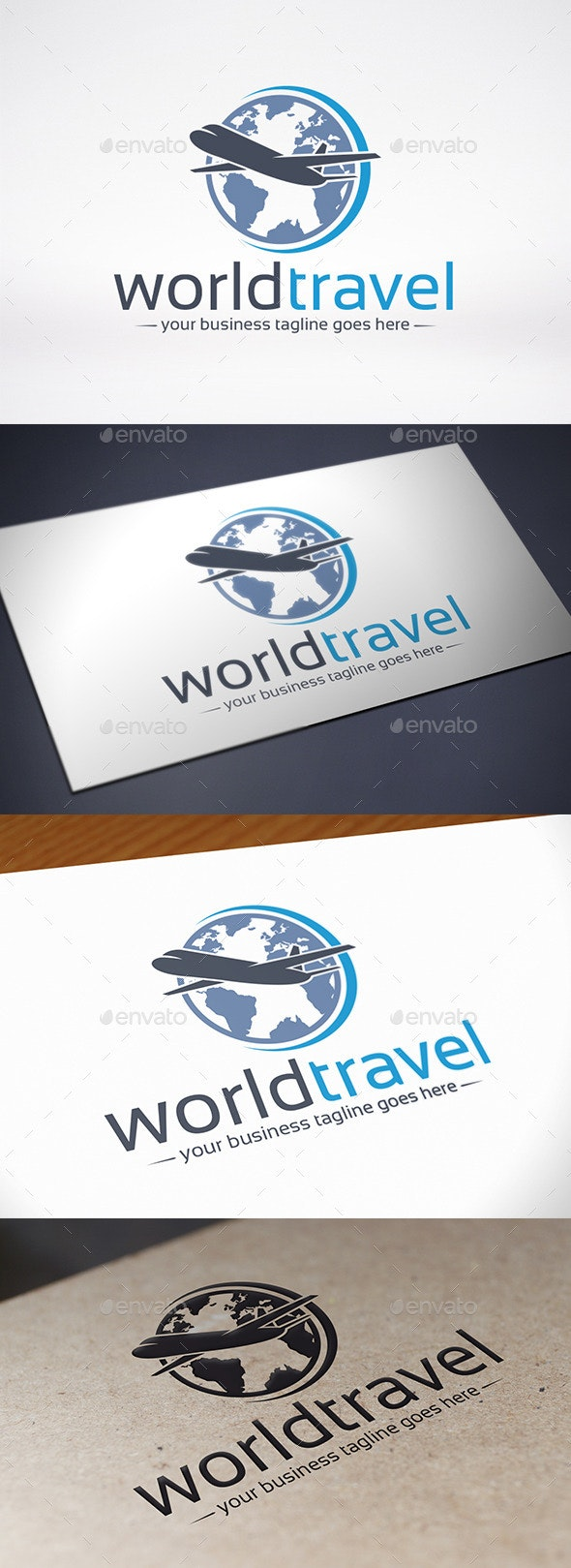 World Travel Logo Template - Objects Logo Templates