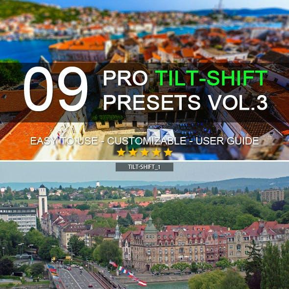 9 Pro Tilt-Shift Presets vol.3