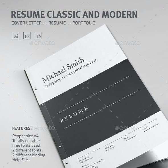 Resume Classic and Modern
