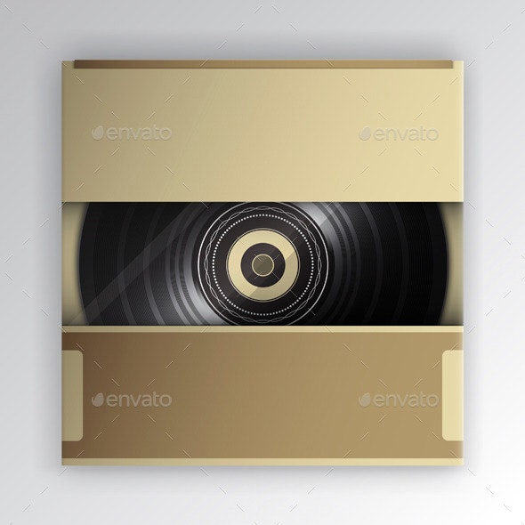 Vinyl Record Package - Commercial / Shopping Conceptual