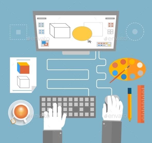 Designer Workplace - Technology Conceptual
