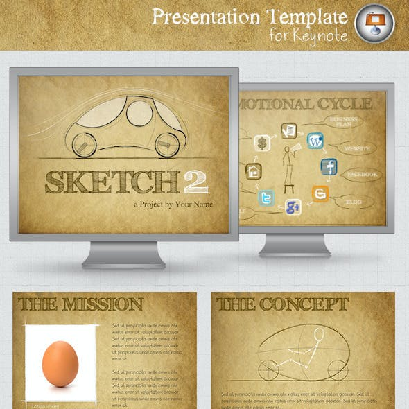 Sketch 2 Keynote Template