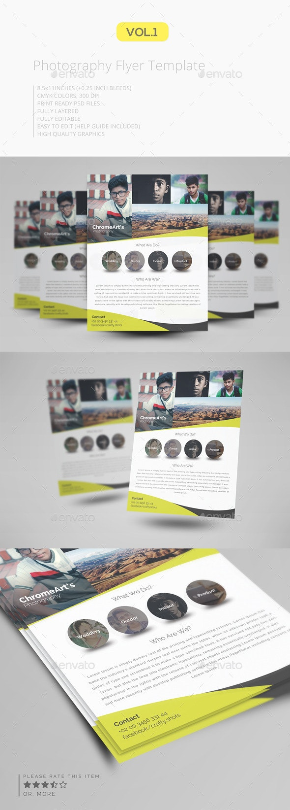 Photography Flyer Template V.1 - Corporate Flyers