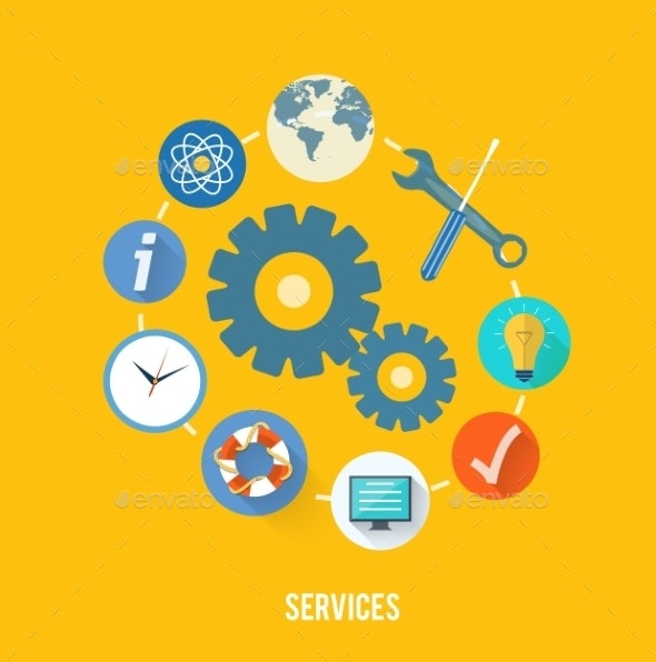 Service Concept - Industries Business
