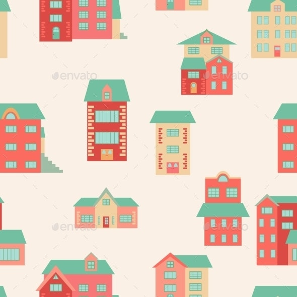 Vector Flat Houses - Miscellaneous Conceptual