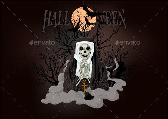 Horror nun - Halloween Seasons/Holidays