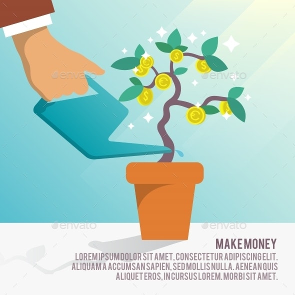 Money Tree Water - Concepts Business