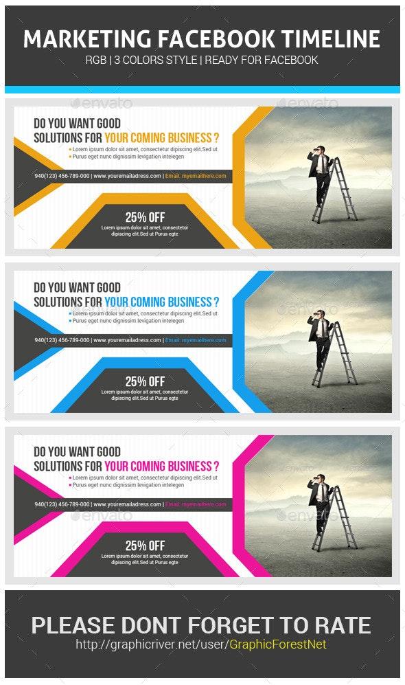 Corporate Business Facebook Timeline Psd - Facebook Timeline Covers Social Media