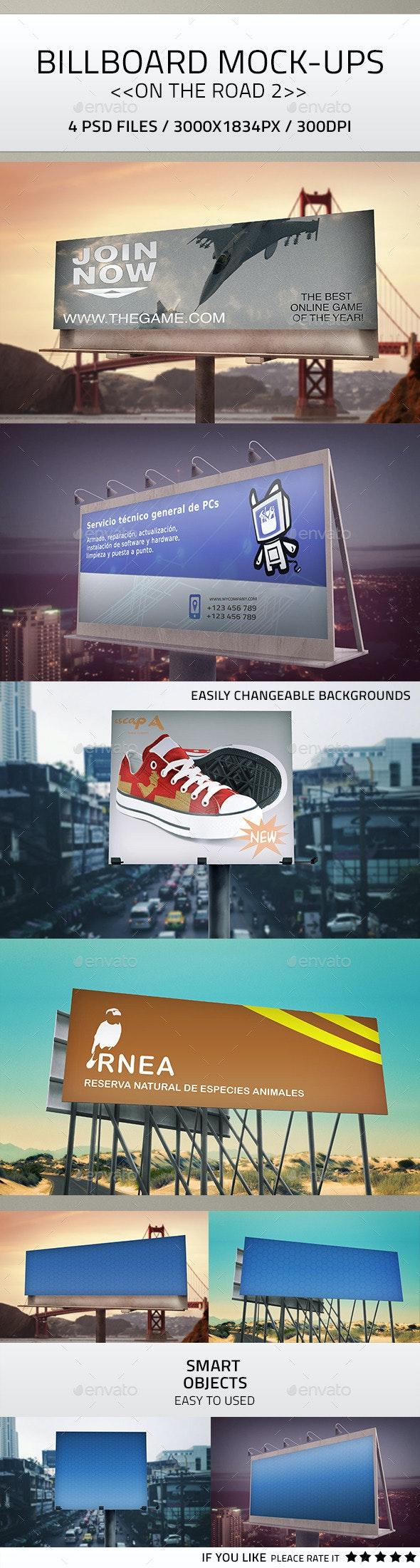 Billboard Mock-Up 2 - Signage Print