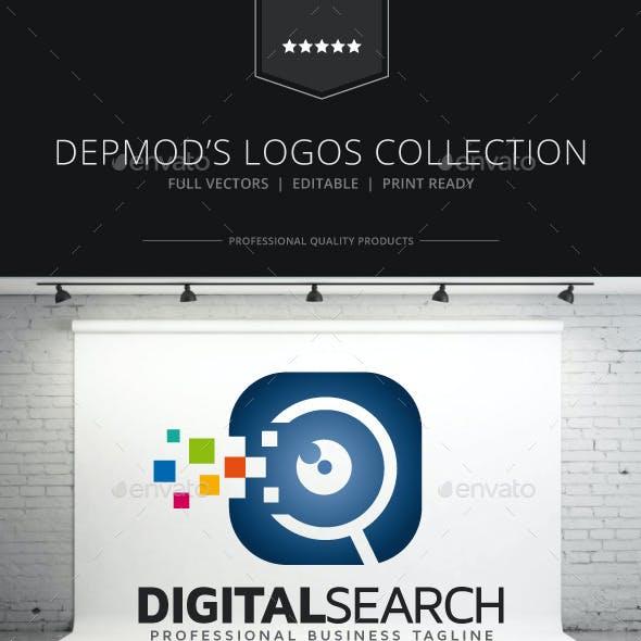 Digital Search Logo