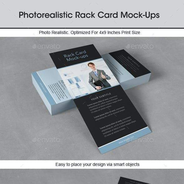 Rack Card Mock-Up