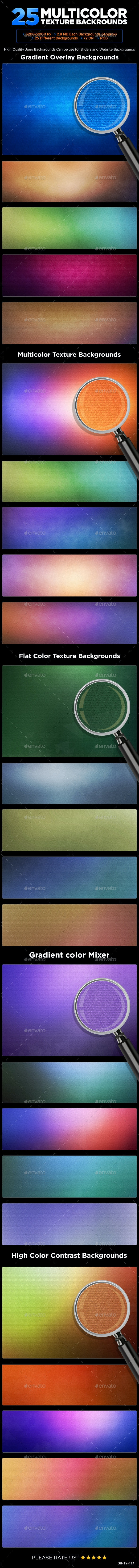 25 Multi Color Backgrounds - Backgrounds Graphics