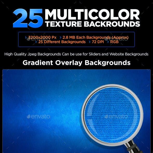 25 Multi Color Backgrounds