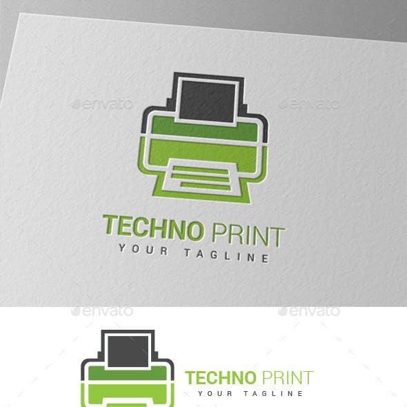 Techno Printing Logo
