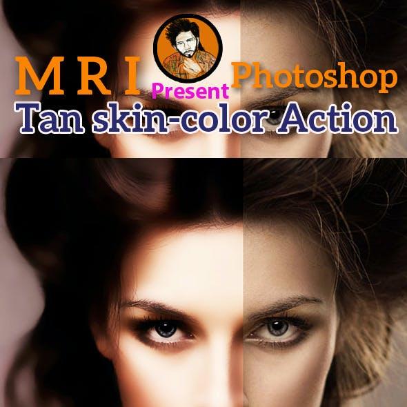 Tan Skin Color