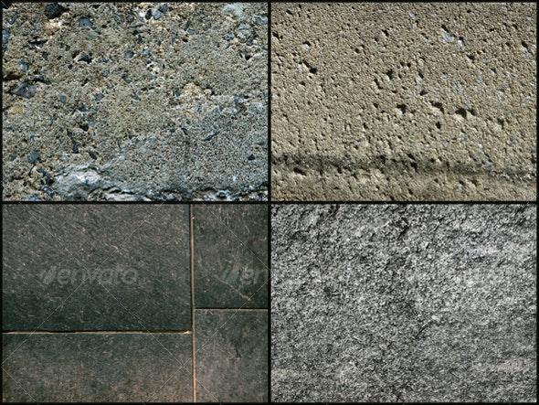 :: CONCRETE pack #1 (4 textures) - Concrete Textures