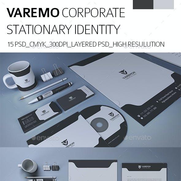 Varemon Corporate Stationary Itentity