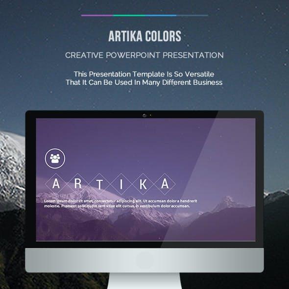 Artika Colors Presentation