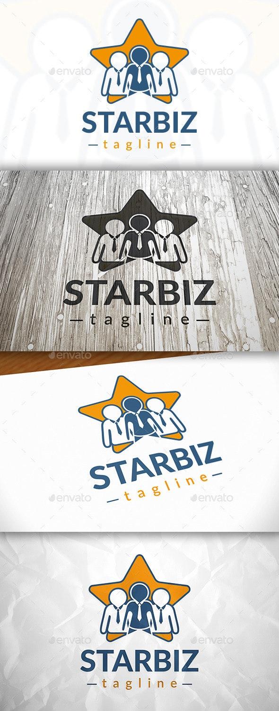 Star Team Logo - Humans Logo Templates
