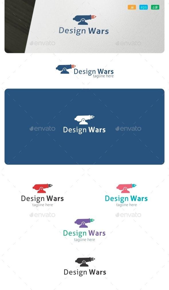 Design Wars Logo - Objects Logo Templates