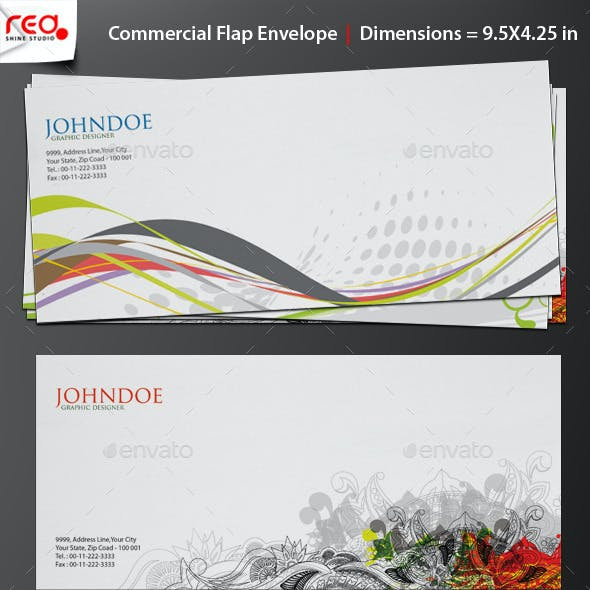 Print Ready Commercial Bussiness Envelop