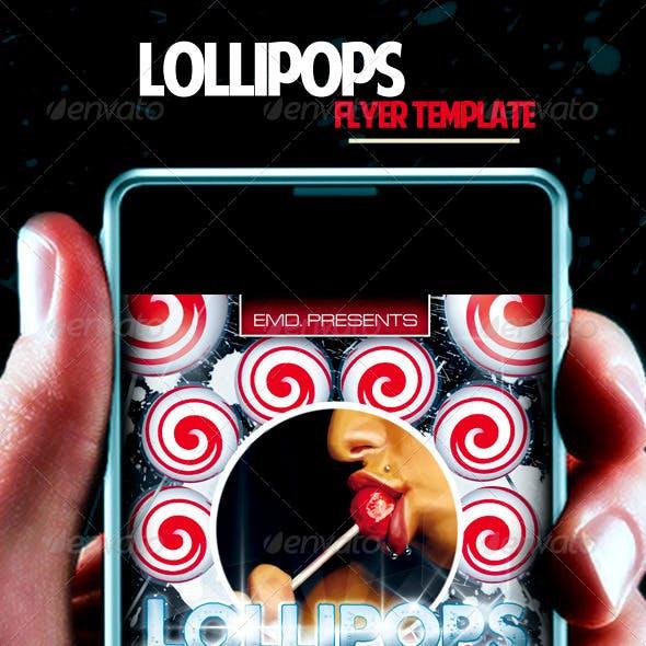 Lollipops Flyer Template