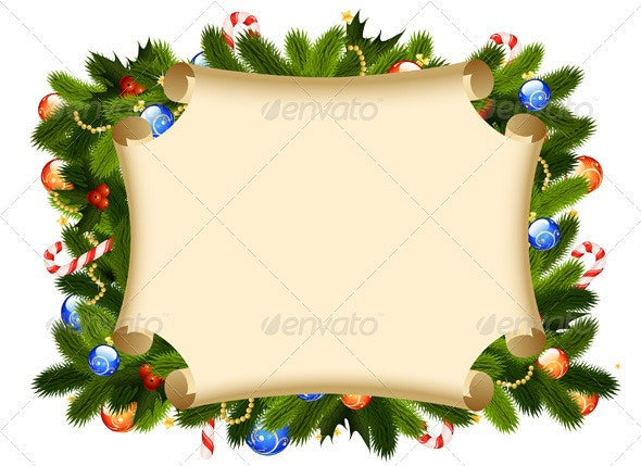 Christmas Background - New Year Seasons/Holidays