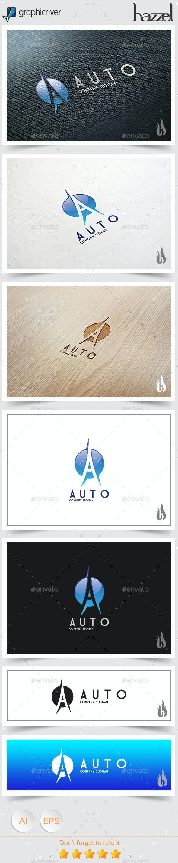 Auto - Letter A Logo - Letters Logo Templates