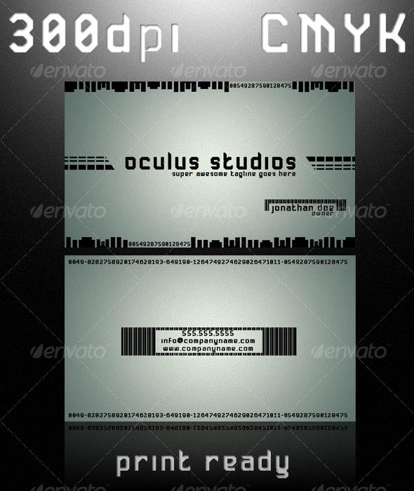 OCULUS BUSINESS CARD - Creative Business Cards
