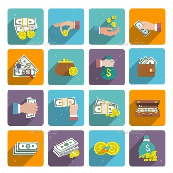 Money Icons Set - Business Icons