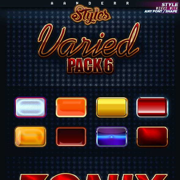 Varied Styles 6