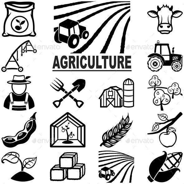 Agriculture Icons - Miscellaneous Icons