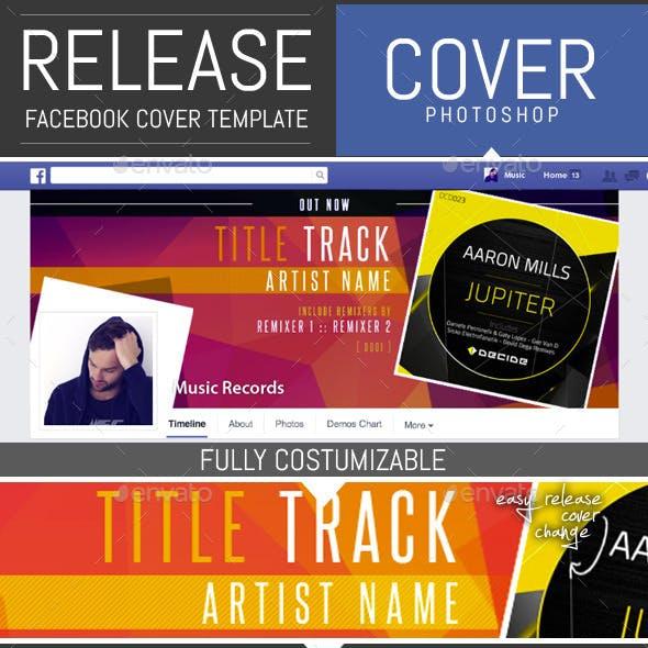 Dj Release Facebook Timeline Cover Template