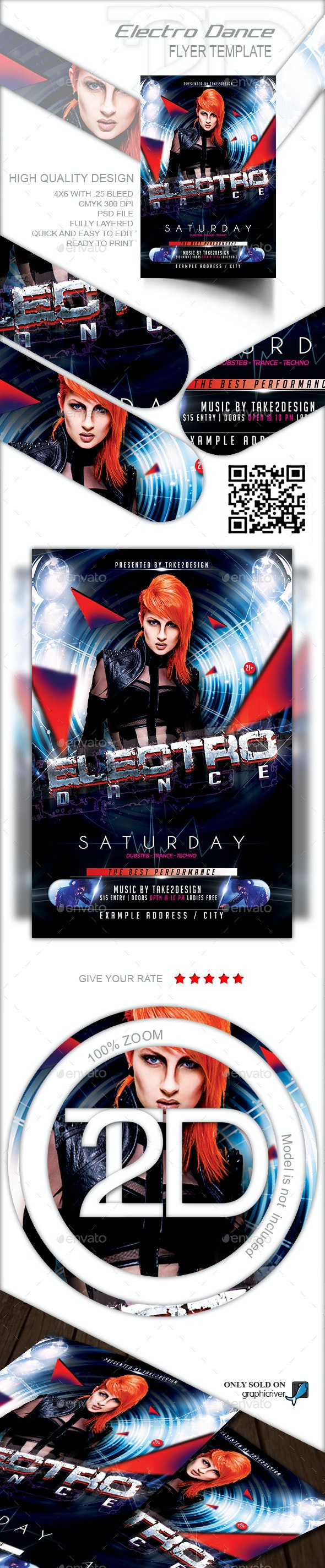 Electro Dance - Clubs & Parties Events