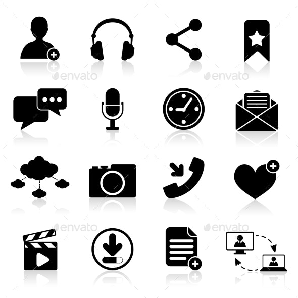 Social Network Icons - Web Icons