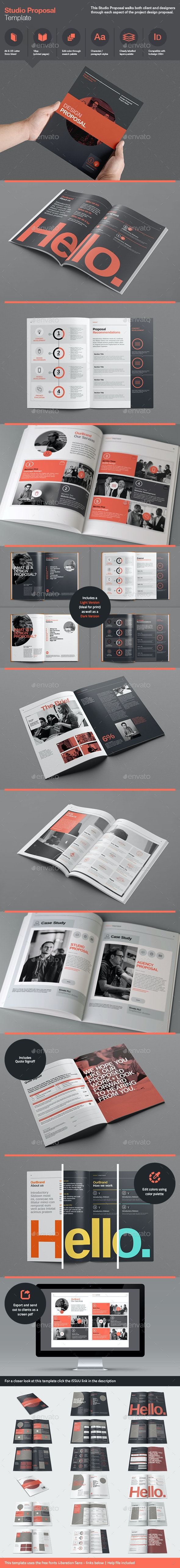 Studio Proposal Template - Proposals & Invoices Stationery