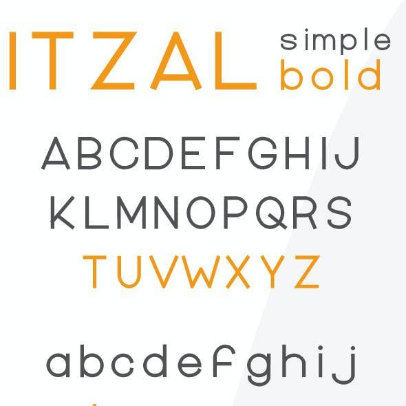 Itzal Simple Bold