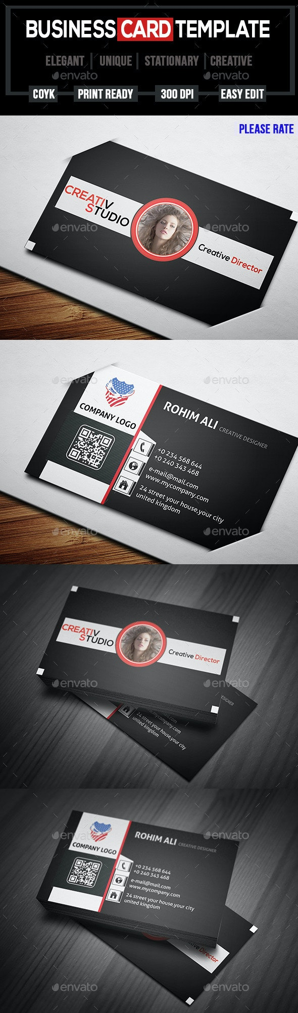 Corporate Business Card-10 - Creative Business Cards