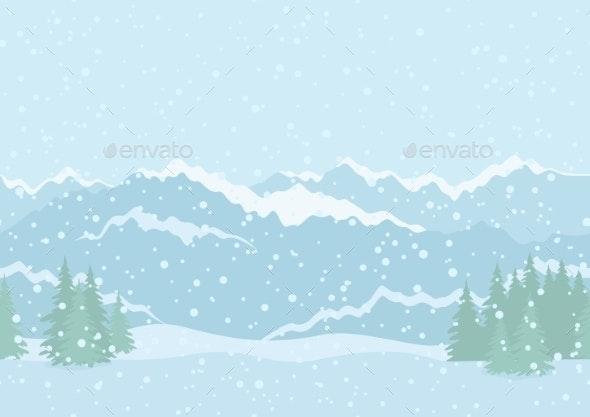 Mountain Landscape Background - Landscapes Nature