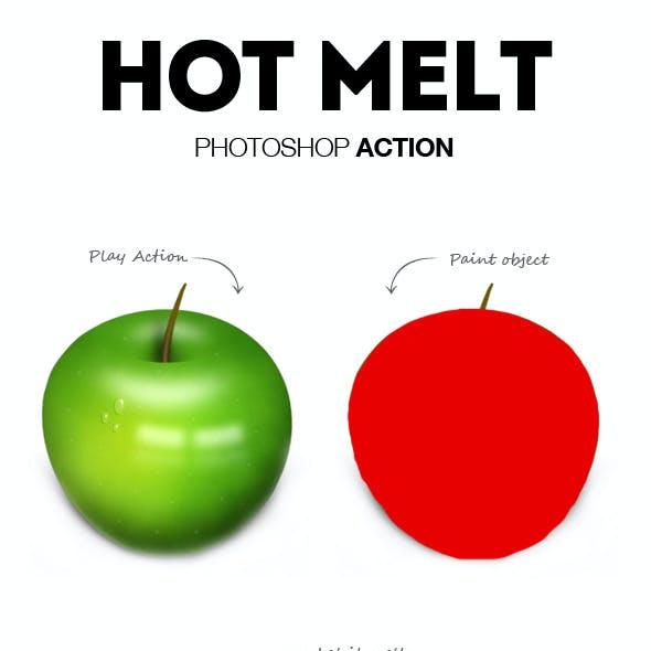 Hot Melt Photoshop Action